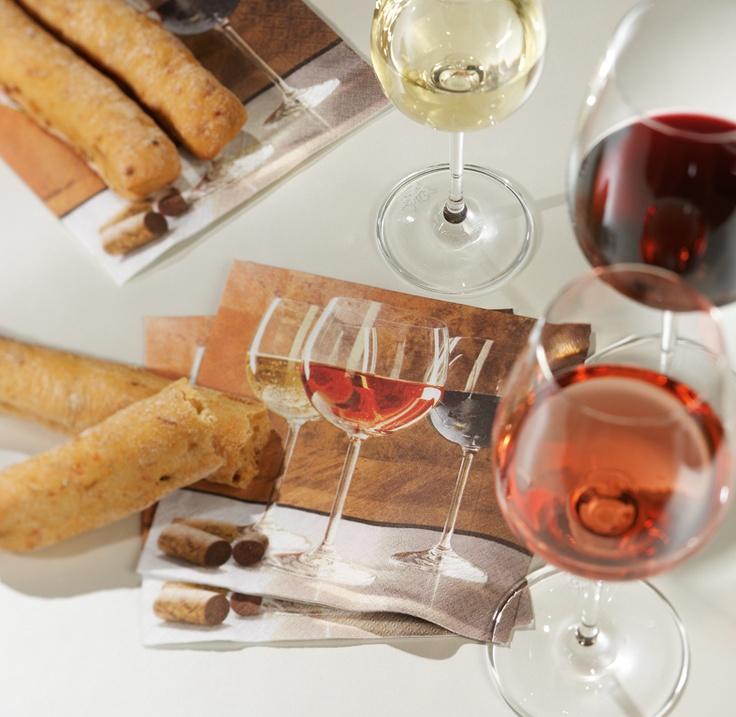 Paper + Design napkin - World of wine
