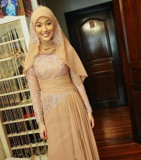 kebaya muslim modern simple dan elegan terbaru 2015