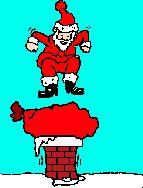 julemand animation, søde og sjove animationer med julemænd, animationer med julemanden