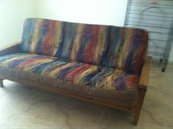 Nice Choice In Custom Futon Cover With Border Beautiful Mi Of Pastels And Earth Tone