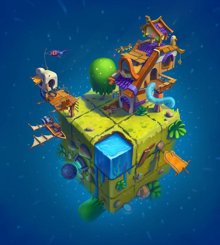 mini game planet free