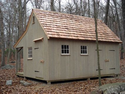 country carpenters upholds the traditional post and beam construction of new england style barns garden sheds and country style carriage houses - Garden Sheds New Hampshire