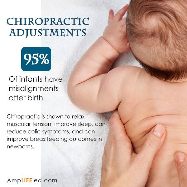 Improved sleep and reduced colic? That's probably the best gift you can give a new parent! #GetAdjusted #Chiropractic  http://www.DrSchluter.com