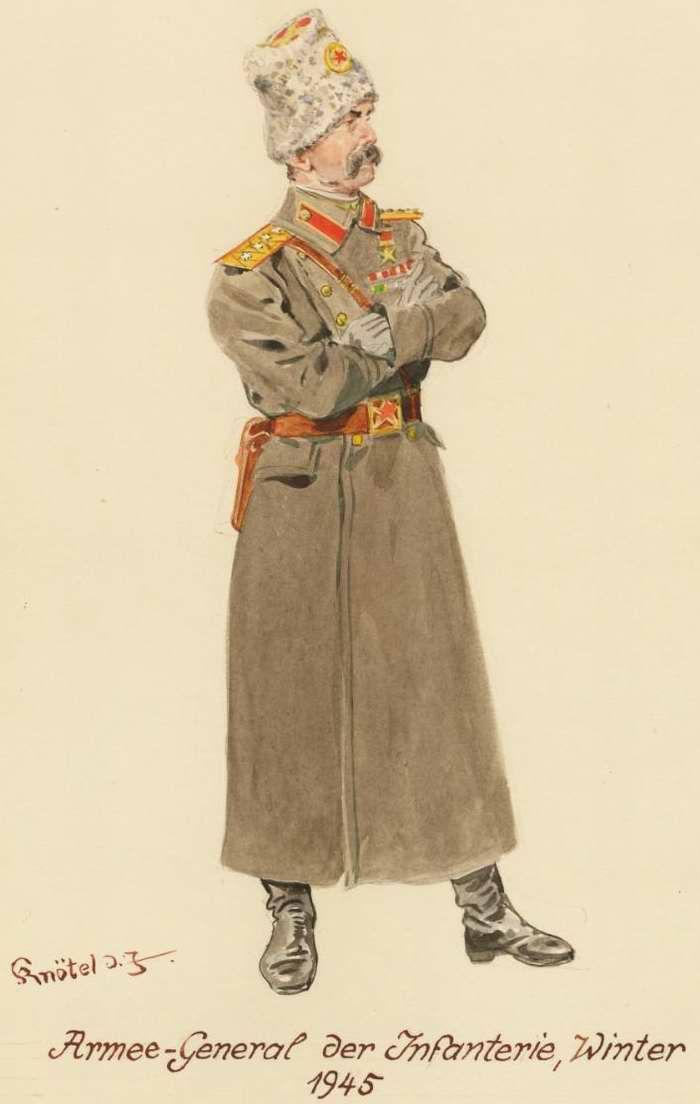 ARMATA ROSSA - Generale d'Armata di Fanteria 1945