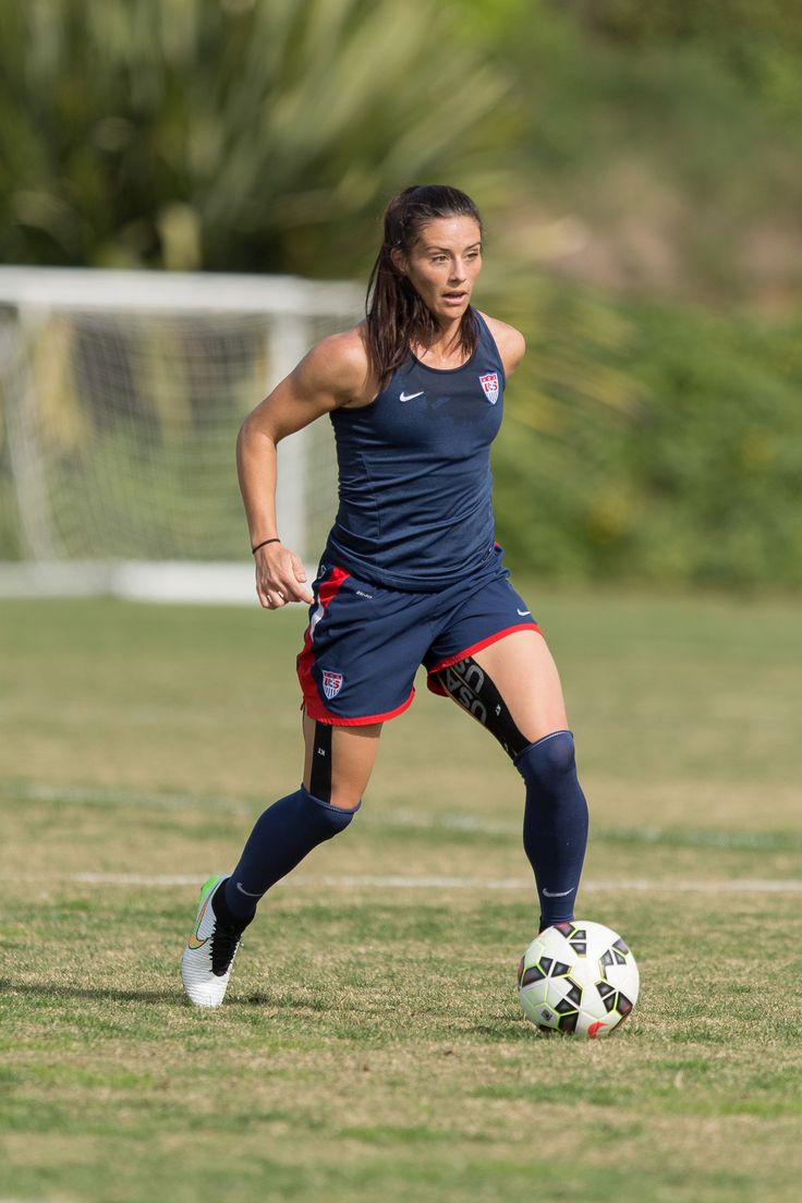 Ali Krieger, training camp, January 2015. (U.S. Soccer)