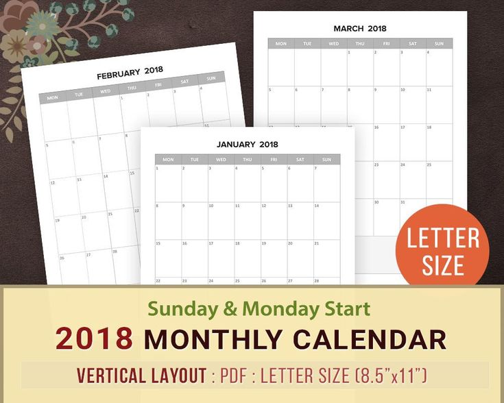 Best 25+ Blank monthly calendar template ideas on Pinterest - perpetual calendar template