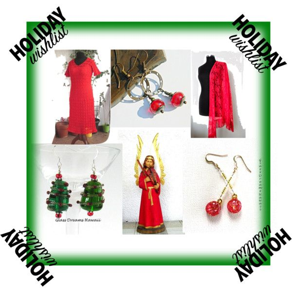 A fashion look from October 2016 by sylvia-664 featuring Christmas, WishList, red i integrityTT