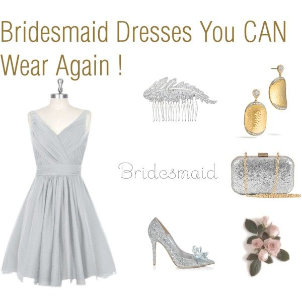 Bridesmaid Dresses You CAN Wear Again ! by ve-ethnic-channel on Polyvore featuring Jimmy Choo, NLY Accessories, John Hardy, J.Crew and wearitagain