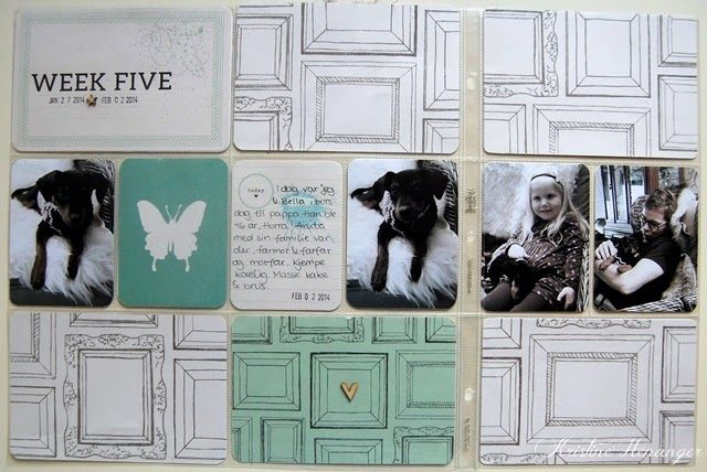 DT KREATIV SCRAPPING.NO - PROJECT LIFE 2014 - WEEK 5 - BY KRISTINE HENANGER