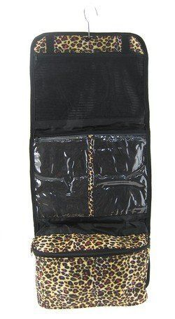 Leopard Cosmetic Makeup Organizer Hanging Bag * You can find out more details at the link of the image.