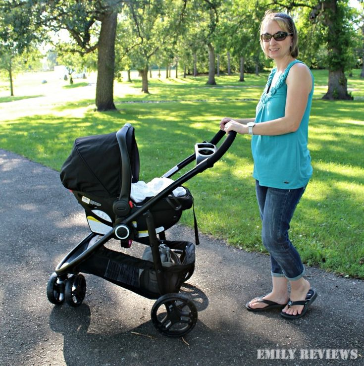 Graco MODES 3 Lite Click Connect Travel System {Stroller
