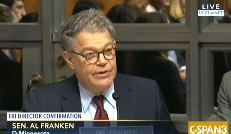 Sen. Al Franken wants Attorney General Jeff Sessions to testify again after anonymous report