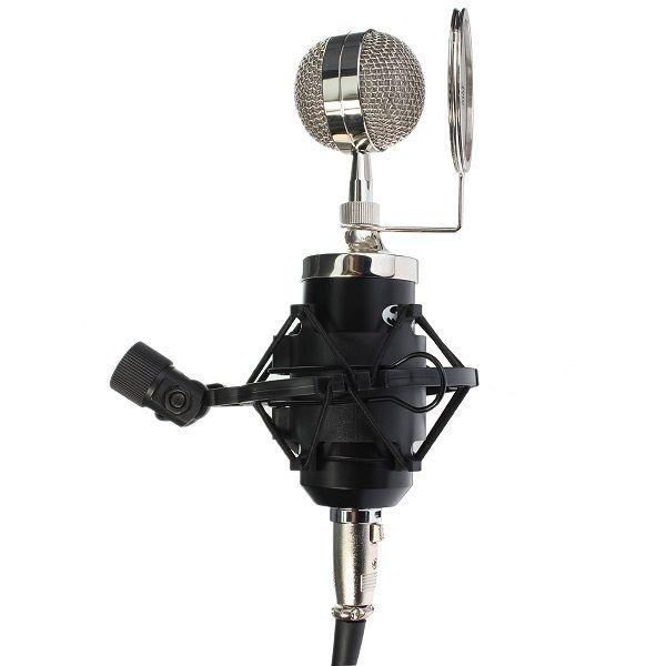 Som profissional dinâmico estúdio de gravação mic microfone condensador