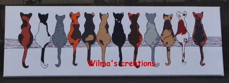 Painted. Wilma's creations