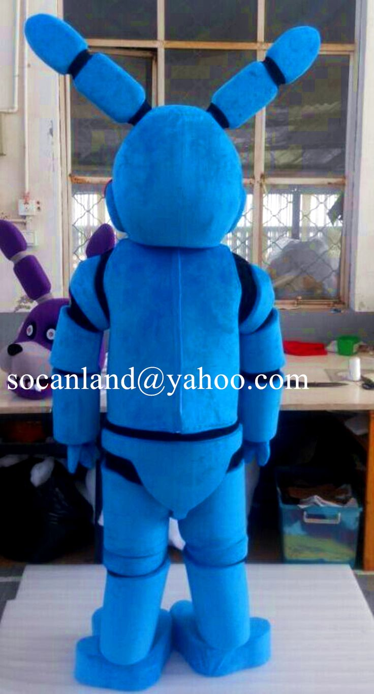 Halloween Freddy Toys : Toy bonnie mascot costume from five nights at freddy s
