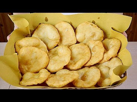 RICETTA PIZZETTE FRITTE FATTE IN CASA Homemade Deep-fried Pizza Recipe - YouTube