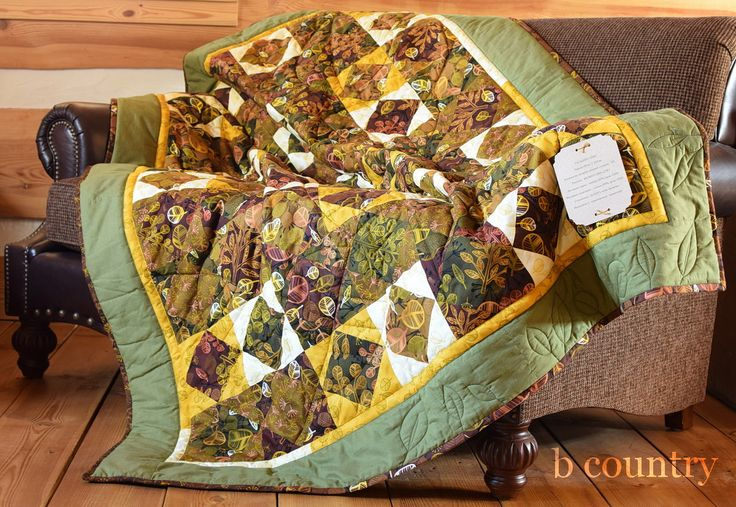 Autumn leaves patchwork handmade lap quilt Fall colors homemade quilt Ready to ship one of a kind quilt Broken Dishes quilt by bcountryQuilts on Etsy https://www.etsy.com/uk/listing/508400770/autumn-leaves-patchwork-handmade-lap