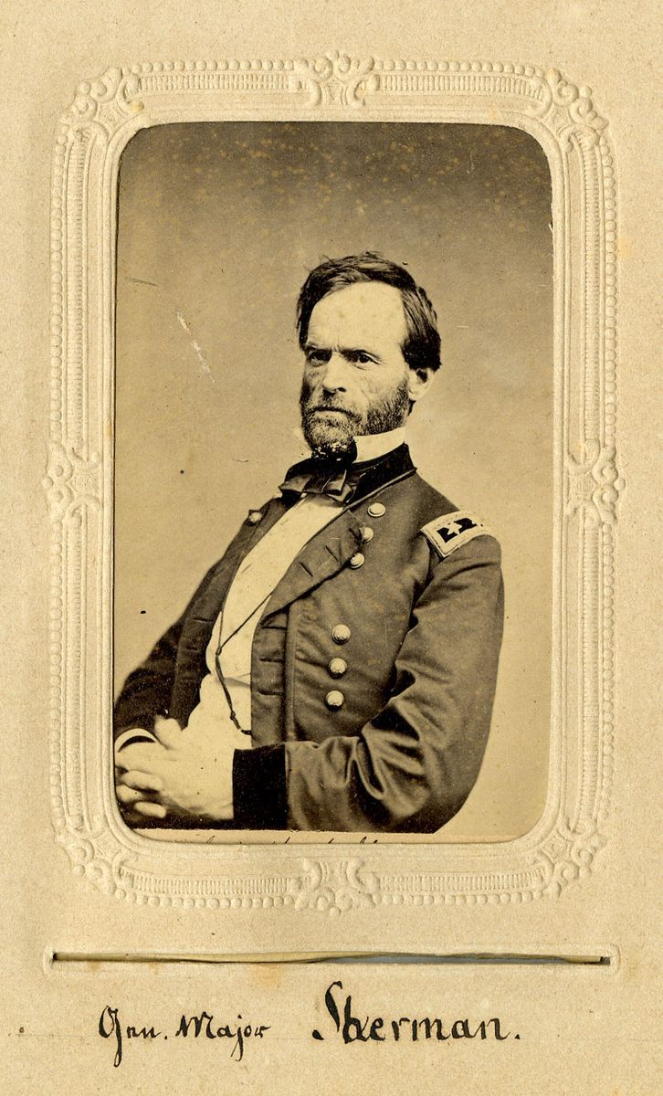 a biography of william tecumseh sherman an american war general William tecumseh sherman, 1820–91, union general in the american civil war, blancaster, ohio sherman is said by many to be the greatest of the civil war.