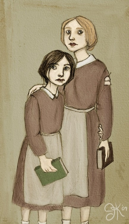 """Helen Burns es mi personaje preferido de """"Jane Eyre"""".   """"You have a passion for living, Jane. And one day you'll come to the region of bliss."""" Helen Burns"""