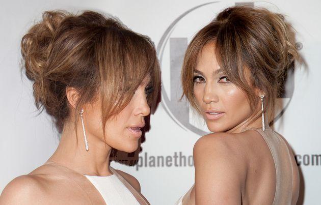 Meilleur Jennifer Lopez coiffures avec frange