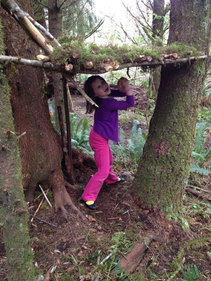 Building forts & shelters