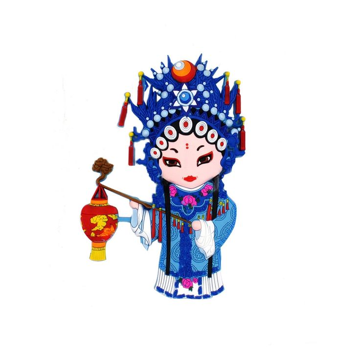 3D Chinese Ancient Court Maid Fridge Magnet by Sterxy on Etsy #fridgemagnet #cute #3D