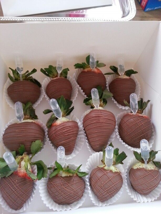 Ciroc Infused Chocolate Covered Strawberries