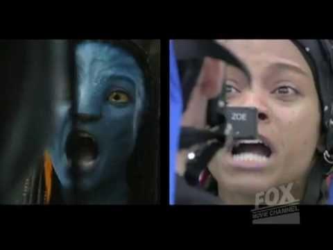 Avatar making of - Zoe Saldana's mocap performance clip
