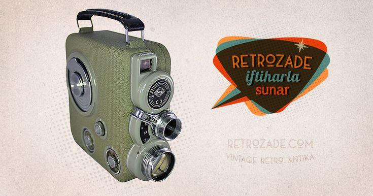 Eumig C3 8mm Film Kamerası