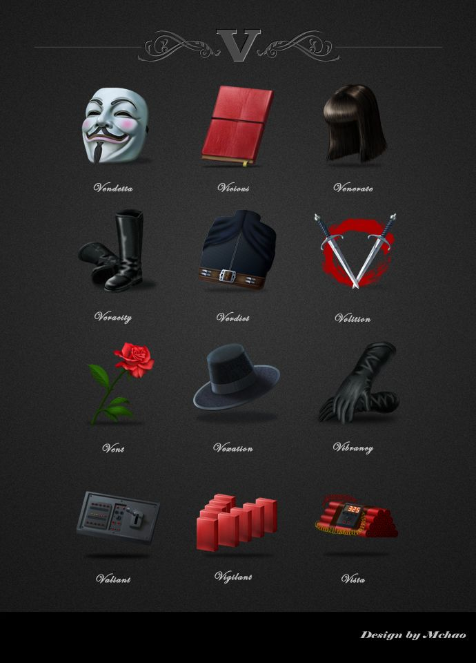 the best v for vendetta ideas v vendetta watch  v for vendetta icons design by mchaoo