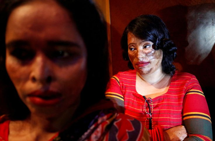 Bangladesh acid attack survivors show new confidence on fashion runway