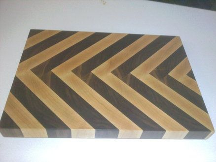 My daydream idea at work- endgrain cutting board
