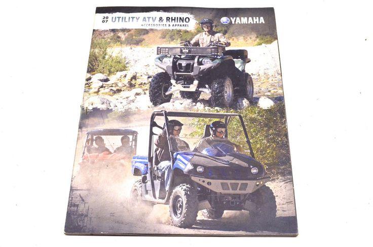 New OEM Yamaha 2007 Utility ATV & Rhino Accessories & Apparel NOS   eBay Motors, Parts & Accessories, Manuals & Literature   eBay!