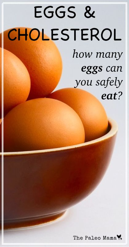 Eggs & Cholesterol - How Many Eggs Can You Safely Eat? www.thepaleomama.com