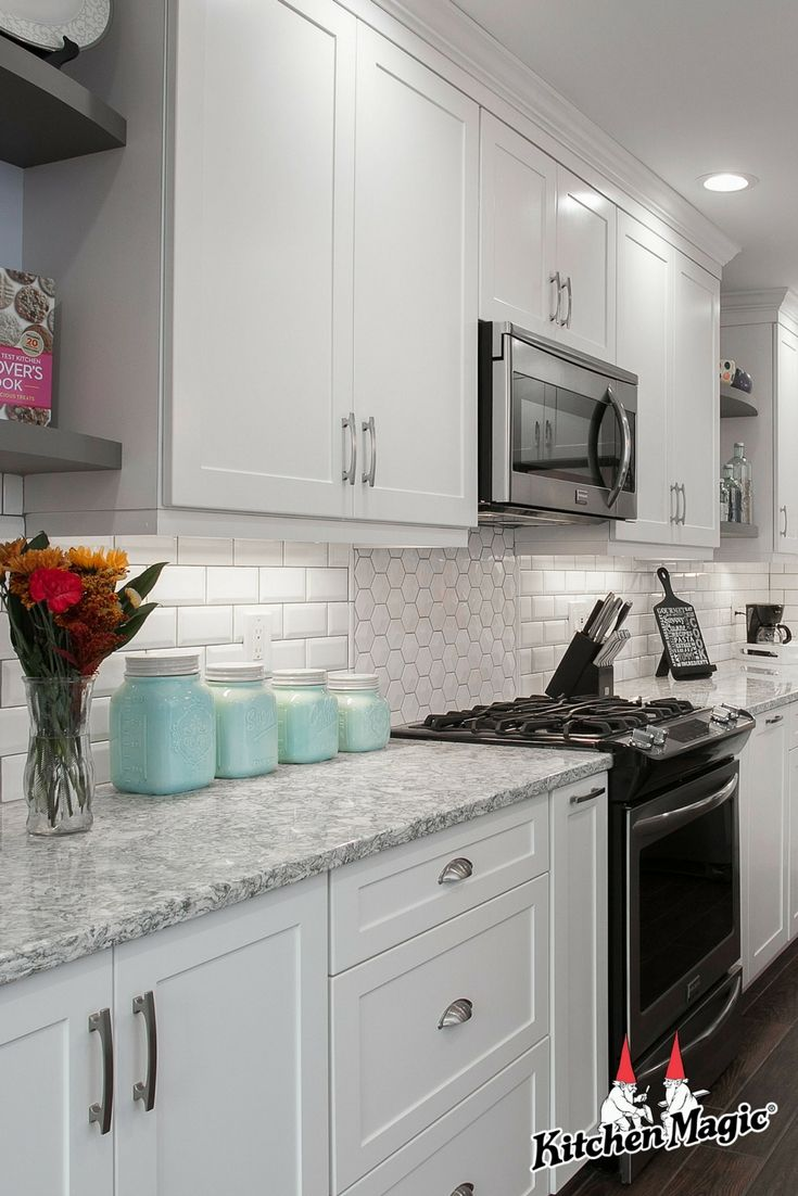 White Kitchen Cabinets And Countertops A Style Guide Replacing