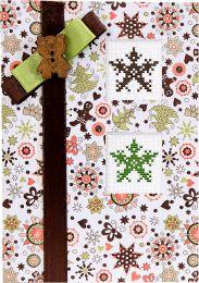 Рождественские звезды (S)Р7, Luca-S, Праздничные открытки | интернет-магазин вышивки Stitch World