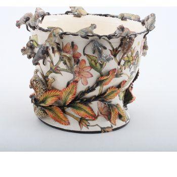 Ardmore Ceramics Monkey Planter AAA