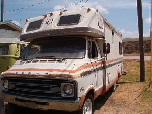 1977 Mobile Traveler Dodge Sportsman 18 Foot | TCT ...