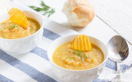 Суп из печеного картофеля  | Кулинарные рецепты от «Едим дома!»