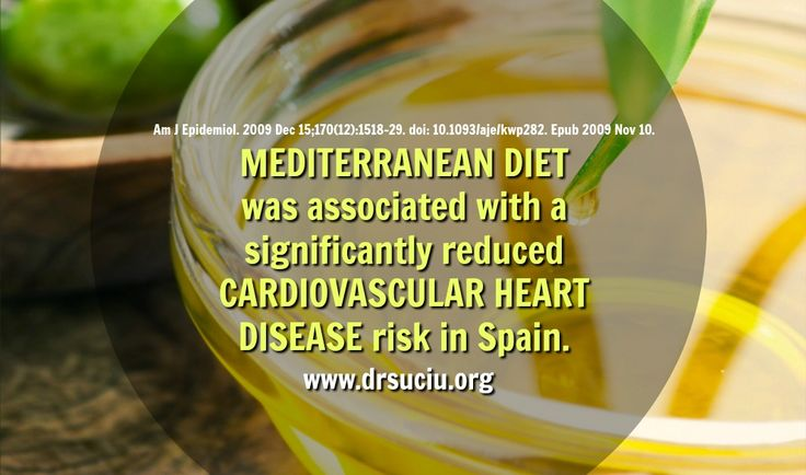 Picture Mediterranean diet and cardiovascular disease - drsuciu