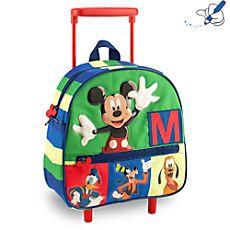 Petite valise à roulettes Mickey Mouse
