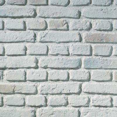 TrikBrik | HW0106 TrikBrik Urban Brick Cladding Aged White Interior Composite Panel