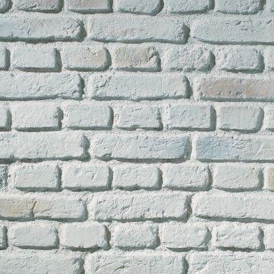 HW0106 TrikBrik Urban Brick Cladding Aged White Interior Composite Panel