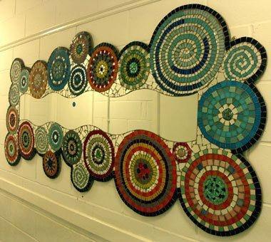 Mandalas de mosaicos