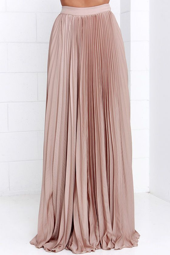 25  best ideas about Beige maxi skirts on Pinterest | Long skirt ...