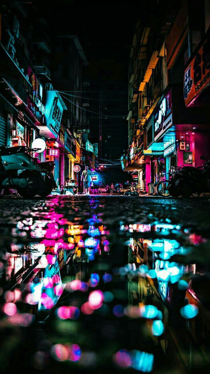 Street City Travel Wallpapers Iphone Android City Wallpaper Art Wallpaper Street Photography