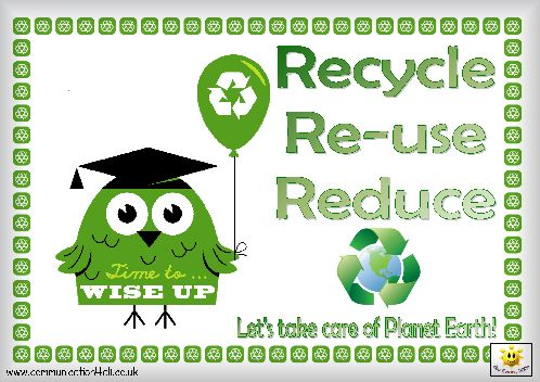 Why is recycling, re-using, and reducing important to our planet...what do you think? GGM