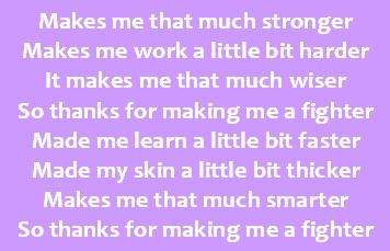 Fighter - Christina Aguilera