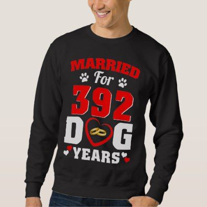 56th Wedding Anniversary T-Shirt For Dog Lover. - diy cyo customize gift idea personalize