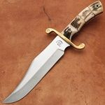 Bowie Knives, Combat Bowie, Mexican Bowie Knife :- Bowie knives are liked by many collectors for being associated with the legendary James Bowie, who had a hand-to-hand fight in 1827 using his knife in Mississippi. Atlanta Cutlery offers a range of Combat Bowie and Mexican Bowie knife made of steel.